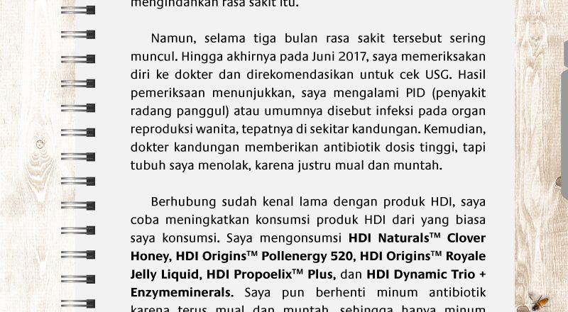 testimonial produk hdi
